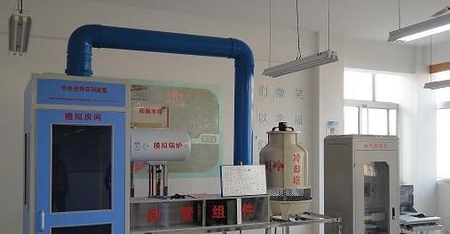 (2)冷却水系统 由1套喷淋式冷却塔机组